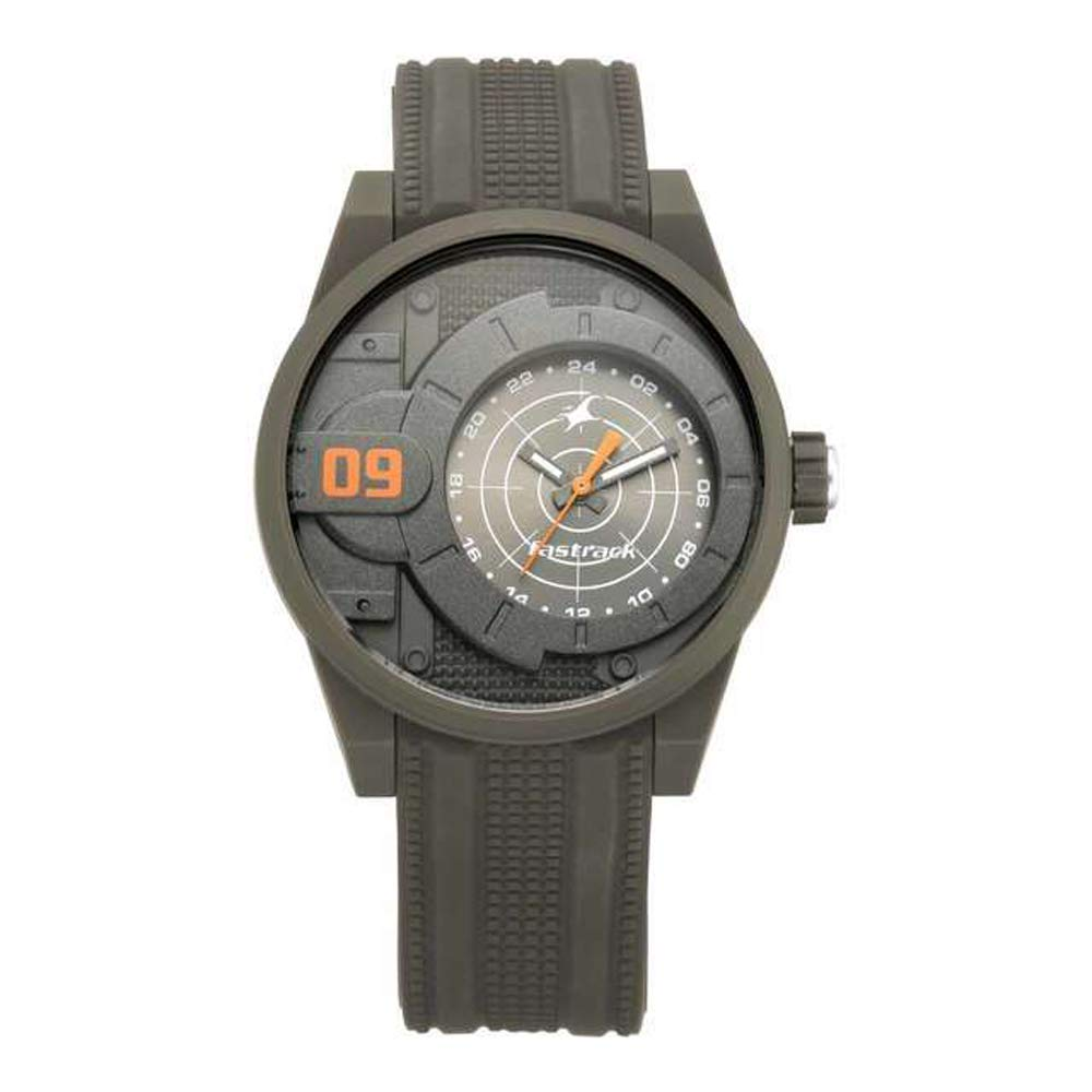 Fastrack Trendies Analog Grey Dial Men's Watch 38058PP02 Men's Watches