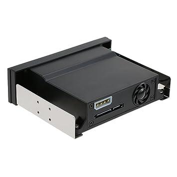 KKmoon Recinto de Bastidor Caja para Disco Duro Móvil de Una Sola Bahía con Luz Indicadora LED Soporte Hot-swap para 2,5 / 3.5 Inches SATA HDD SSD Fit ...