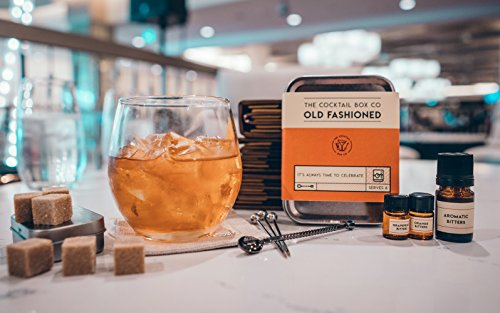 Cocktail Kit - The Old Fashioned - Makes 6 Premium Cocktails by The Cocktail Box Co. (Image #3)
