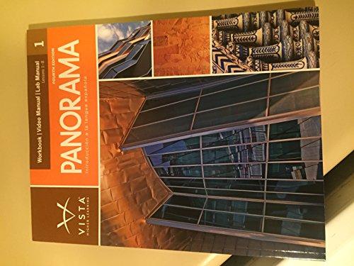 Panorama, 4th Edition, Volume 1 Workbook/Video Manual