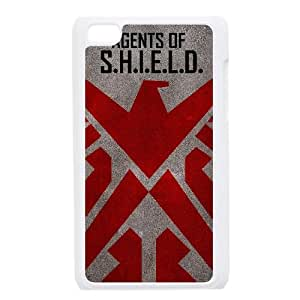 Ipod Touch 4 2D Customized Hard Back Durable Phone Case with Agents of Shield Image