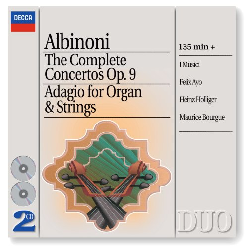 Albinoni: Concerto a 5 in D minor, Op.9, No.2 for Oboe, Strings, and Continuo - 1. Allegro e non presto
