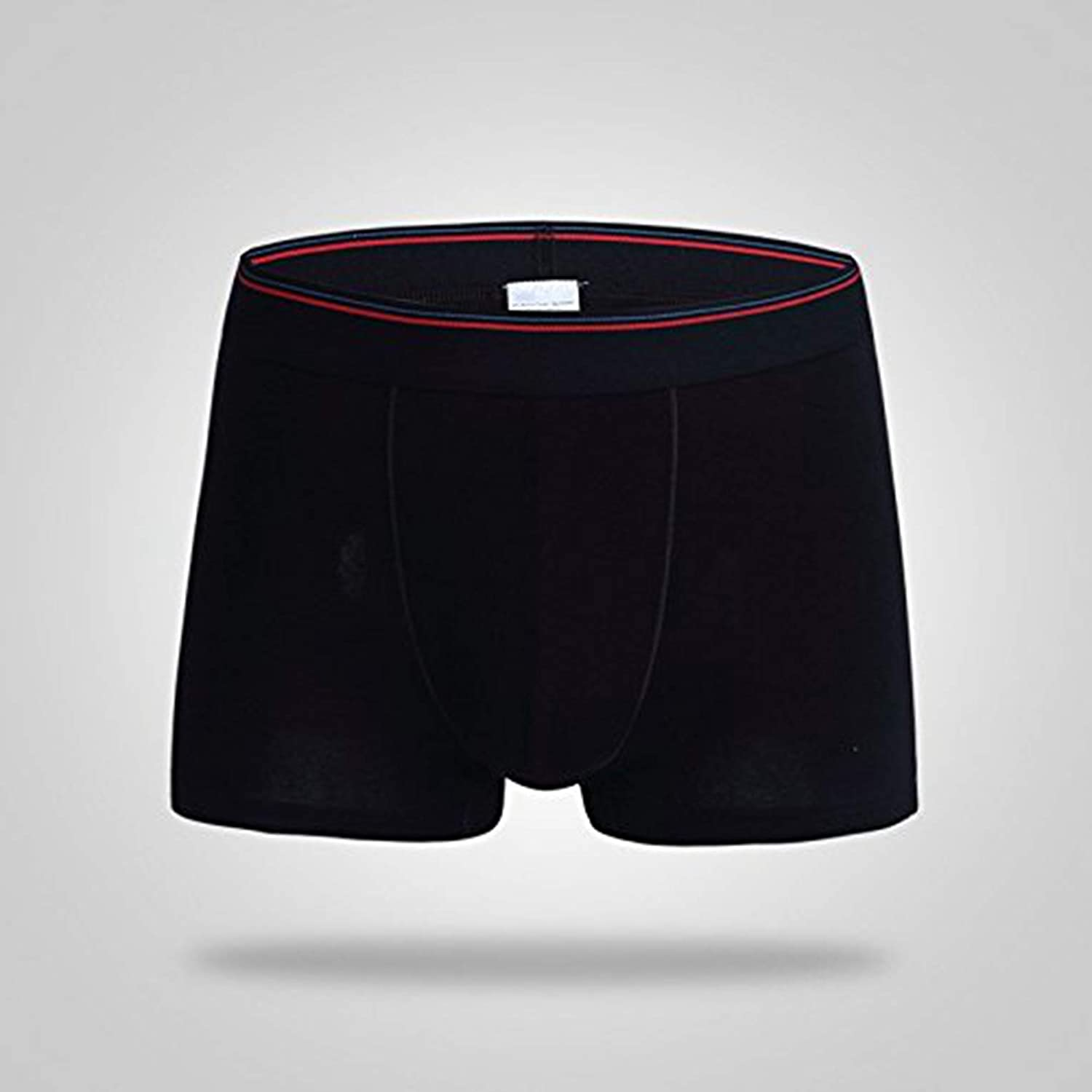 Large,Black Men Maryland Crab Lacrosse Boxer Brief Underwear Light Weight Casual Breathable Soft Cotton