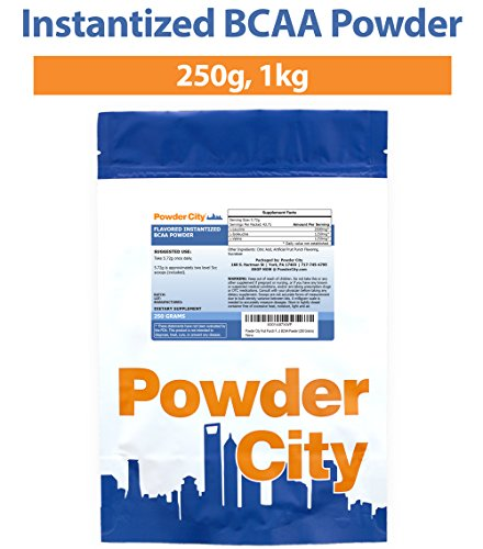 Powder City Instantized BCAA Powder (1 Kilogram)