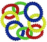 Chew Jewelry Coil Bracelet - Fun Sensory Motor Aid - Chewelry for Boys & Girls with Autism, ADHD & Sensory-Focused Needs - Oral Motor Chewing Biting Teething Help Chewable Jewelry for Kids (8)