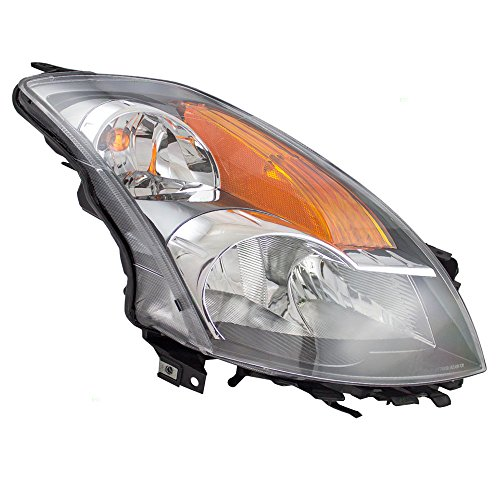 07 nissan altima headlight lens - 3