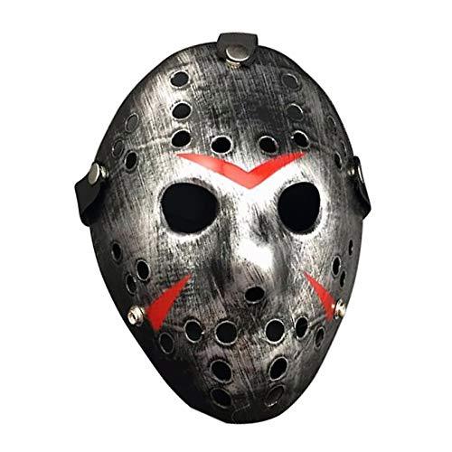 Spaktacular Jason vs Friday The 13th Horror Hockey Cosplay Costume Halloween Killer Masquerade Mask Halloween -