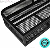 SKEMiDEX--- Universal Quad Basket Front Carrier Storage Luggage Rack Steel NEW Made of durable 16 gauge steel frame with steel mesh Generously sized basket for maximum cargo storage