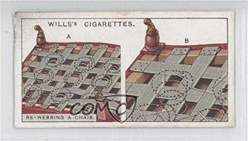 Re-webbing A Chair COMC REVIEWED Good to VG-EX (Trading Card) 1927 Wills Household Hints - Tobacco [Base] #10