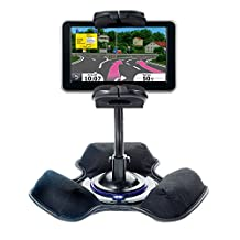 Car / Truck Vehicle Holder Mounting System for Garmin Nuvi 2460 2450 Includes Unique Flexible Windshield Suction and Universal Dashboard Mount Options
