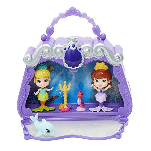 Jakks Pacific Disney Sofia The First Mermaid Party Storytelling Set Playset HandBag Cary -