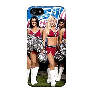 Fashion Protective Cheerleaders Tennessee Titans Atlanta Falcons Case Cover For Iphone 5/5s