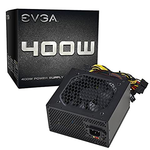 EVGA 400 N1, 400W, 2 Year Warranty, Power Supply 100-N1-0400-L1 (4 Pin Peripheral Connector)
