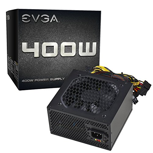 (EVGA 400 N1, 400W, 2 Year Warranty, Power Supply 100-N1-0400-L1)