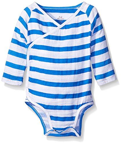 aden + anais Baby Girls Long Sleeve Kimono Body Suit