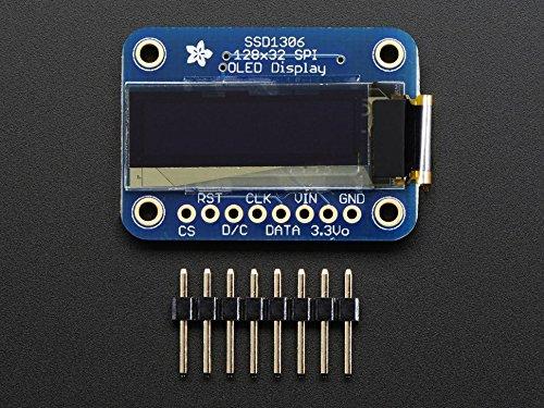 Adafruit Monochrome 1.3'' 128x64 OLED graphic display