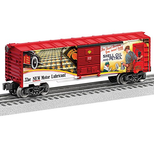Review Lionel Shell Boxcar