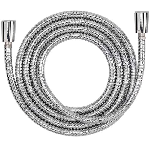 Aquaus 54'' Inch Stainless Steel - NSF Certified - 3 Year Warranty - Hand Held Bidet StayFlex Spray Hose/Designed to be Pressurized & Stay Flexible