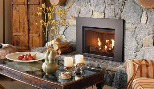 "Superior DRI2000 27"" DV Gas Fireplace Insert - Electronic Ig"