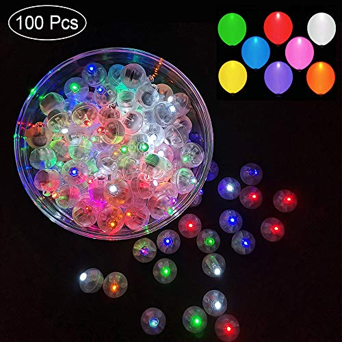 Large Balloons With Led Lights