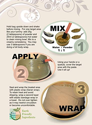 DIY Body Wrap: SPA Formula for Home Use: Seaweed, Healing Clay, Garcinia Cambogia, and Dead Sea Salt 5