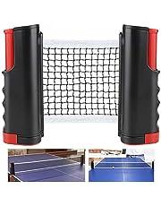 CHUER Red de Tenis de Mesa, Red Ajustable de Ping Pong Repuesto Portátil Retráctil Table Tennis Net - Ping Pong Net para Entrenamiento Abrazaderas, Longitud Ajustable 170 (MAX) x 14.5cm