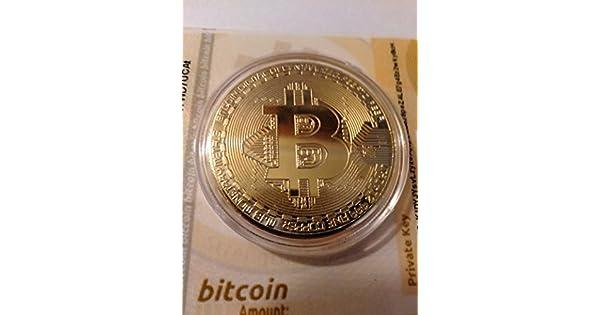 Amazon.com: buildent (TM) buen precio Bitcoin BTC medalla ...