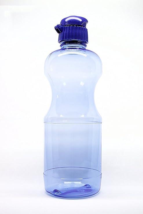 80 x TRITAN Botella 1 litro (redonda) incluye con Tapa con boquilla, Made
