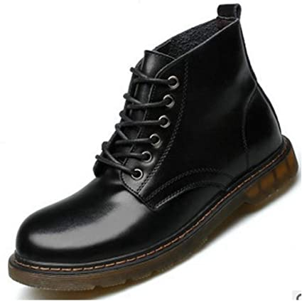 SIKESONG Jianbudan Automne Hommes Cuir Chaussures