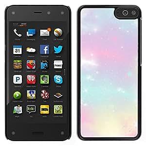 [Neutron-Star] Snap-on Series Teléfono Carcasa Funda Case Caso para Amazon Fire Phone [Stars Glitter Purple Clouds Nebula Cosmos]