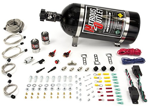 Nozzle System Single (Nitrous Outlet Universal Diesel Dual Stage Single Nozzle Dry System)