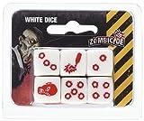 CMON Zombicide: 6 White Dice Board Game
