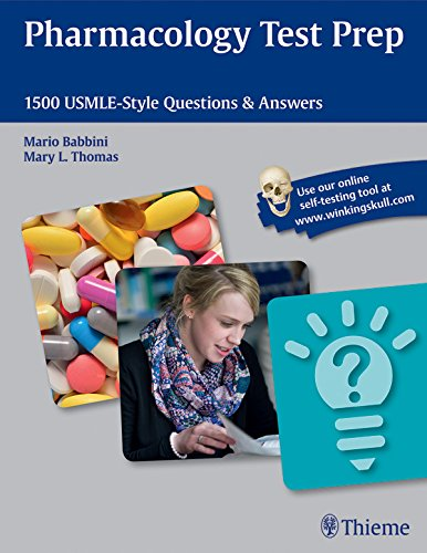Download Pharmacology Test Prep: 1500 USMLE-Style Questions & Answers Pdf