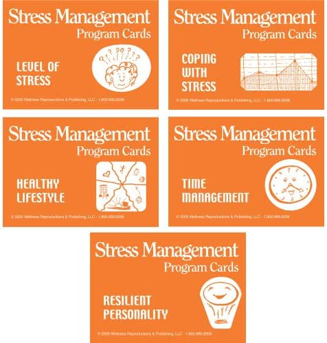 Wellness Reproductions & Publishing The Stress Management Program Cards