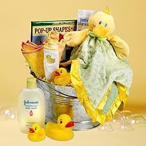 Rub-A-Dub Ducky, Bath-Time Baby Gift Set