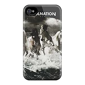 Shock-Absorbing Hard Phone Cases For Iphone 4/4s (lvm16227vBNz) Provide Private Custom High-definition Breaking Benjamin Pattern