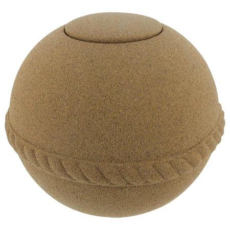 Eco Friendly Cremation Urn - Silverlight Urns Passages International Sand Globe Biodegradable Urn, Eco-Friendly Cremation Urn for Ashes