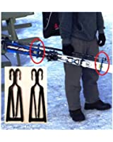 KlipSki - EASY Ski and Pole Carrier..7 Colors Available