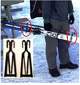 Amazon Com Klipski Easy Ski And Pole Carrier No More