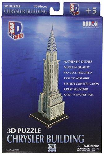 Daron Chrysler Building 3D Puzzle 70-Pieces ()