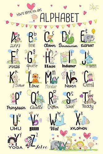 ABC-Poster für´s Kinderzimmer (Ohne Rahmen!): Amazon.de: Bürobedarf ...