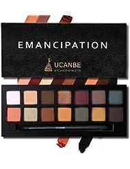UCANBE Pro 14 Colors Eyeshadow Palette Matte & Shimmer...