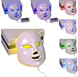Best Led Light For Faces - CSBY PDT photon LED facial mask 7 colors Review