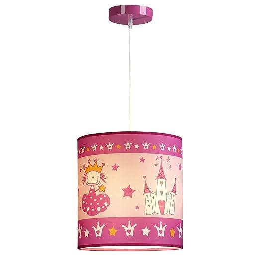 Wonderlamp W-A000123 Lámpara de Techo Infantil Princesa ...