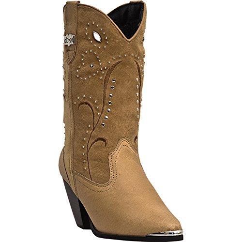 Dingo Women's Ava Western Boot,Chestnut,10 M US