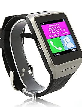 gv08 Wearables reloj inteligente, Bluetooth3.0/llamadas manos libres/control de mensajes