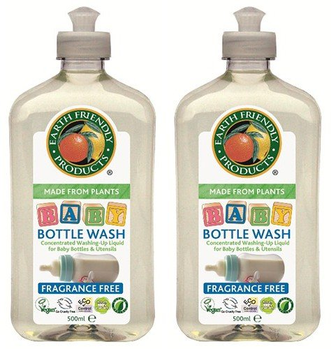 (2 Pack) - Earth Friendly Products - Baby Bottle Wash | 500ml | 2 PACK BUNDLE