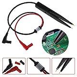 Meter Probe, Multimeter Probe 10mm Car Digital Multimeter SMD Inductor Test Clip Meter Probe By Ikevan