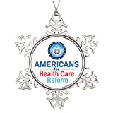 SS OPER Custom Christmas Snowflake Ornaments HEALTH CARE REFORM Thanksgiving Snowflake Ornaments