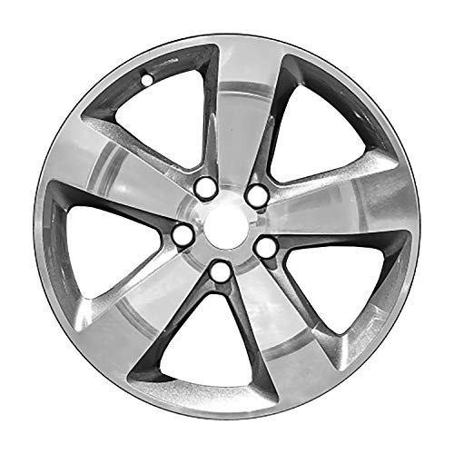 Multiple Manufactures ALY09137U90 Charcoal Gray Wheel with Polished and Meets All Federal Motor Safety Standards (20 x 8. inches /5 x 127 mm, 56 mm Offset)